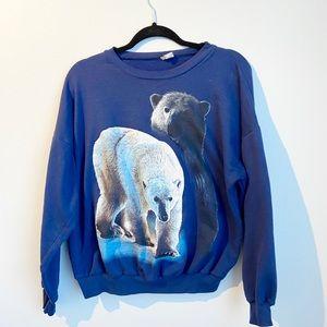 Vintage Polar Bear Sweater